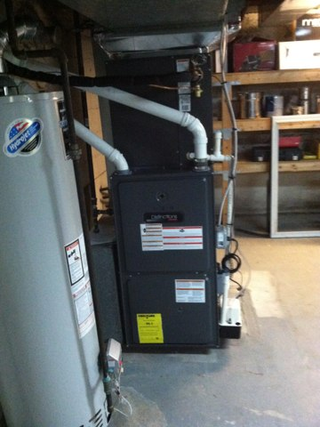 Springfield, PA - New 3 ton condenser and 14 seer furnace