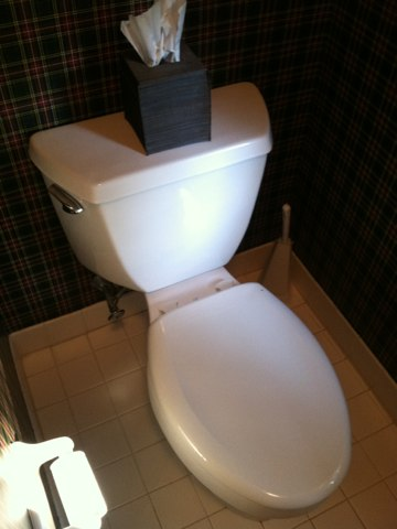 Huntingdon Valley, PA - Replace flapper in toilet