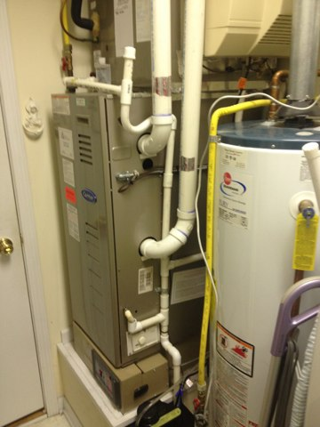 Warrington, PA - Replace condensate pump and Humidifier Service including changing pad and cleaning inside and out