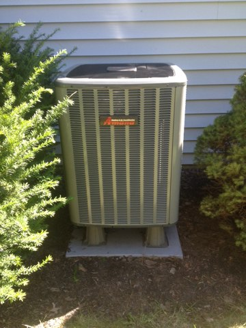 Hatfield, PA - Finish Install of Heat Pump 14 SEER Condenser and electric back up