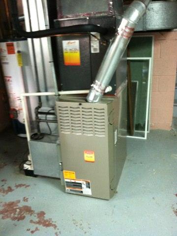 Ivyland, PA - Heat inspection