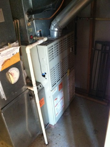 Jamison, PA - Heater Repair - New 15/5 capacitor installed and everything is cozy!