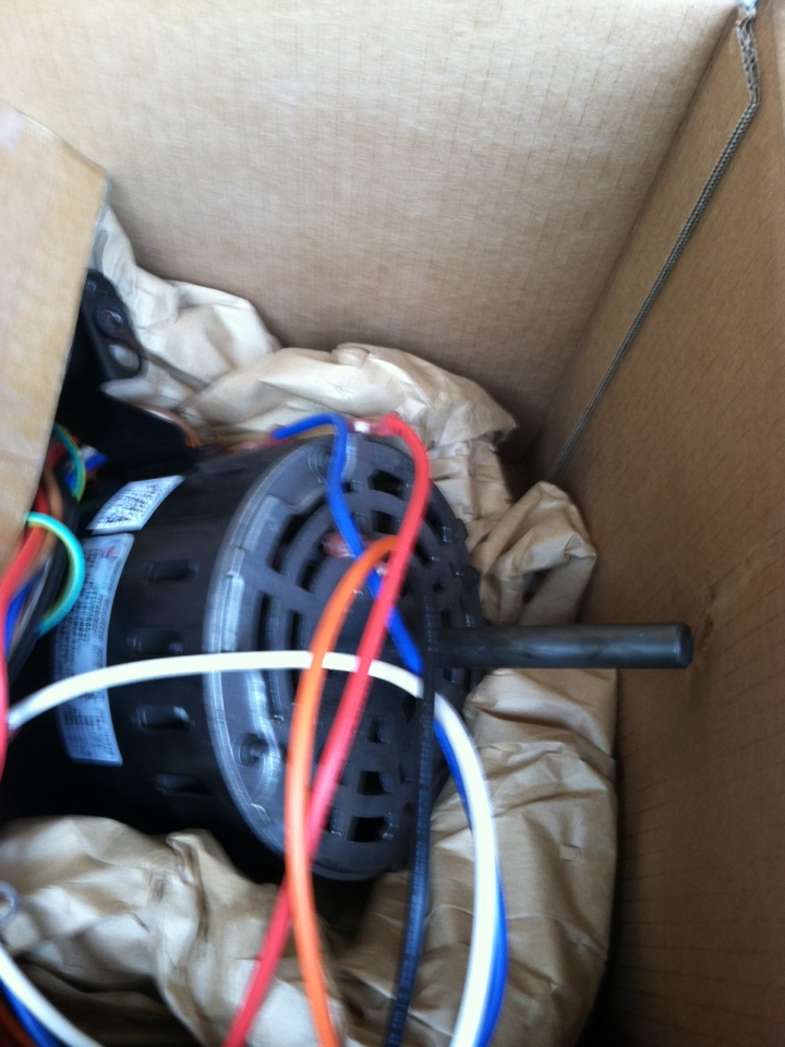 Rockledge, PA - Replaced blower motor
