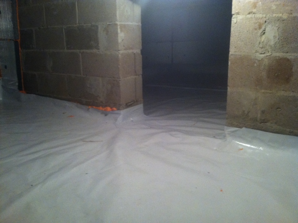 Jamison, PA - DES  install spray foam and air seal