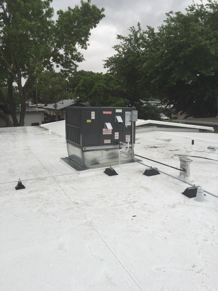 Tracy, CA - Installing new 16 SEER 2 stage heating and cooling system with all new duct work