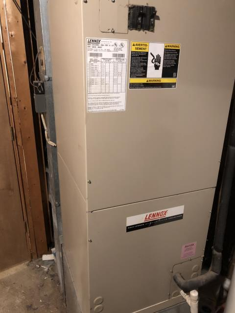 Cincinnati, OH - During a tune up on a Lennox system, I found that the heat pump is not working and advised customer to use emergency heat. A couple of the heat banks have failed. I recommend replacing system instead of repairing. Customer will let me know how to proceed.