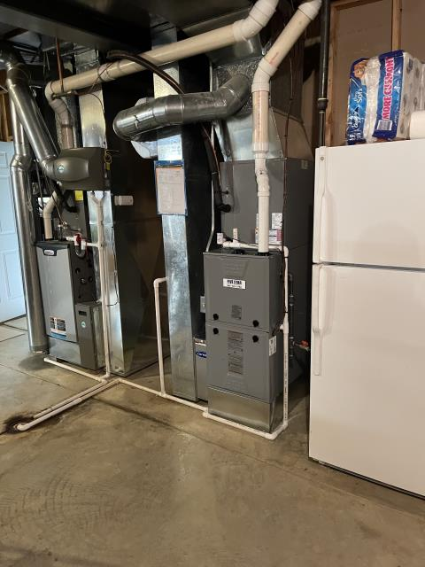 """Mason, OH - After removing the Trane gas furnace and Comfortmaker air conditioner, I installed a Five Star ION 96% 2 Stage Variable Speed communicating 60,000 BTU Gas Furnace 3.5T 17"""" and a Five Star 19 SEER 3 Ton Variable Speed Air Conditioner.  Cycled and monitored the system.  Operating normally at this time.  Included with the installation is a free 1 year service maintenance agreement."""