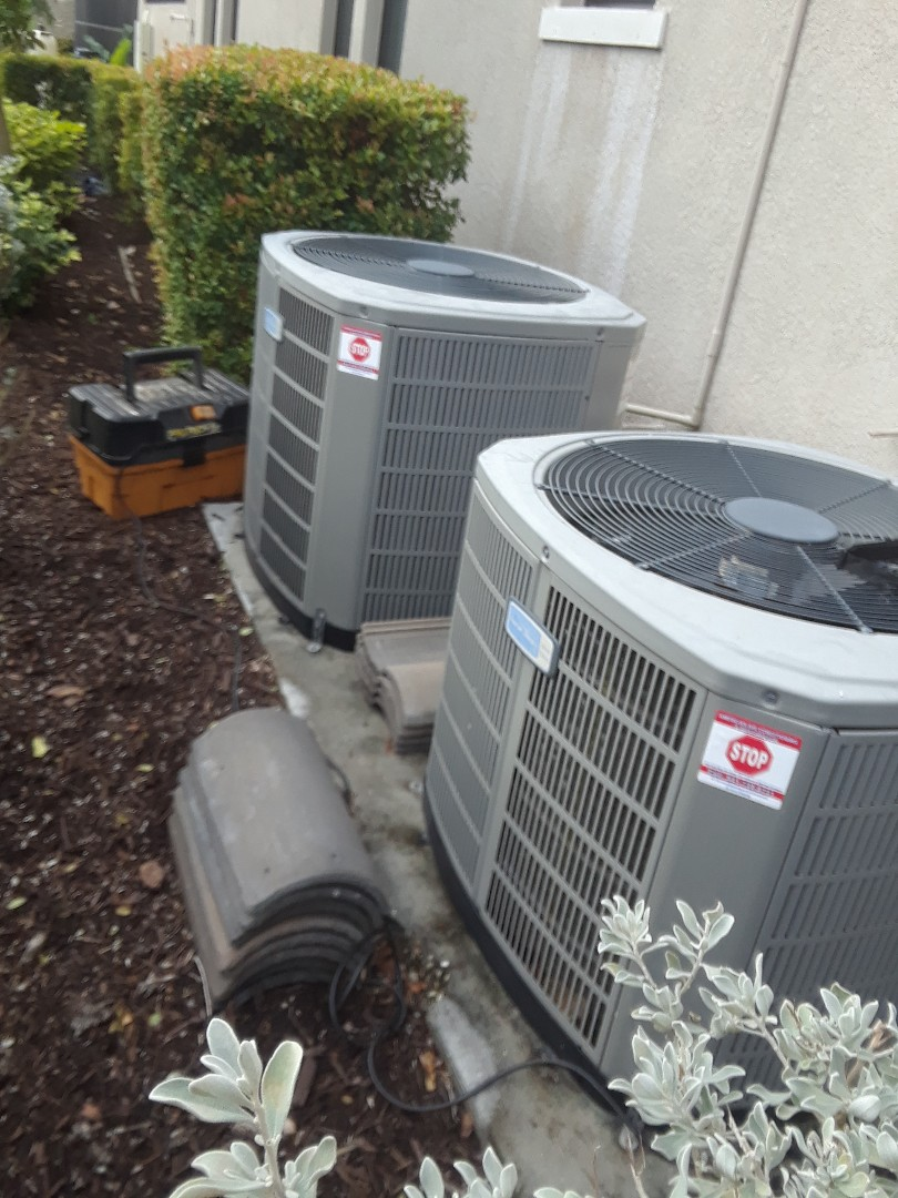 Bradenton, FL - Maintenance on 2 American Standard air conditioning systems