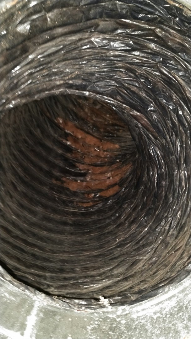 Palmetto, FL - Before-Duct clean and duct repairs