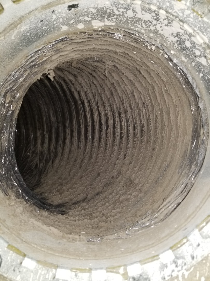 Parrish, FL - Air condition duct cleaning (before)