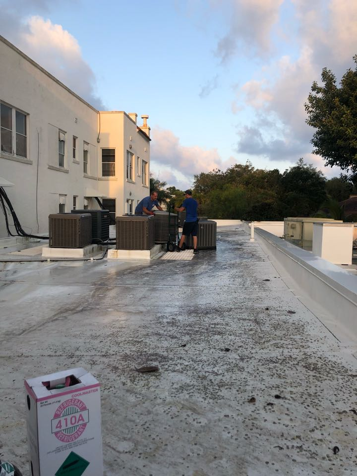 Sarasota, FL - Install two new York air conditioners
