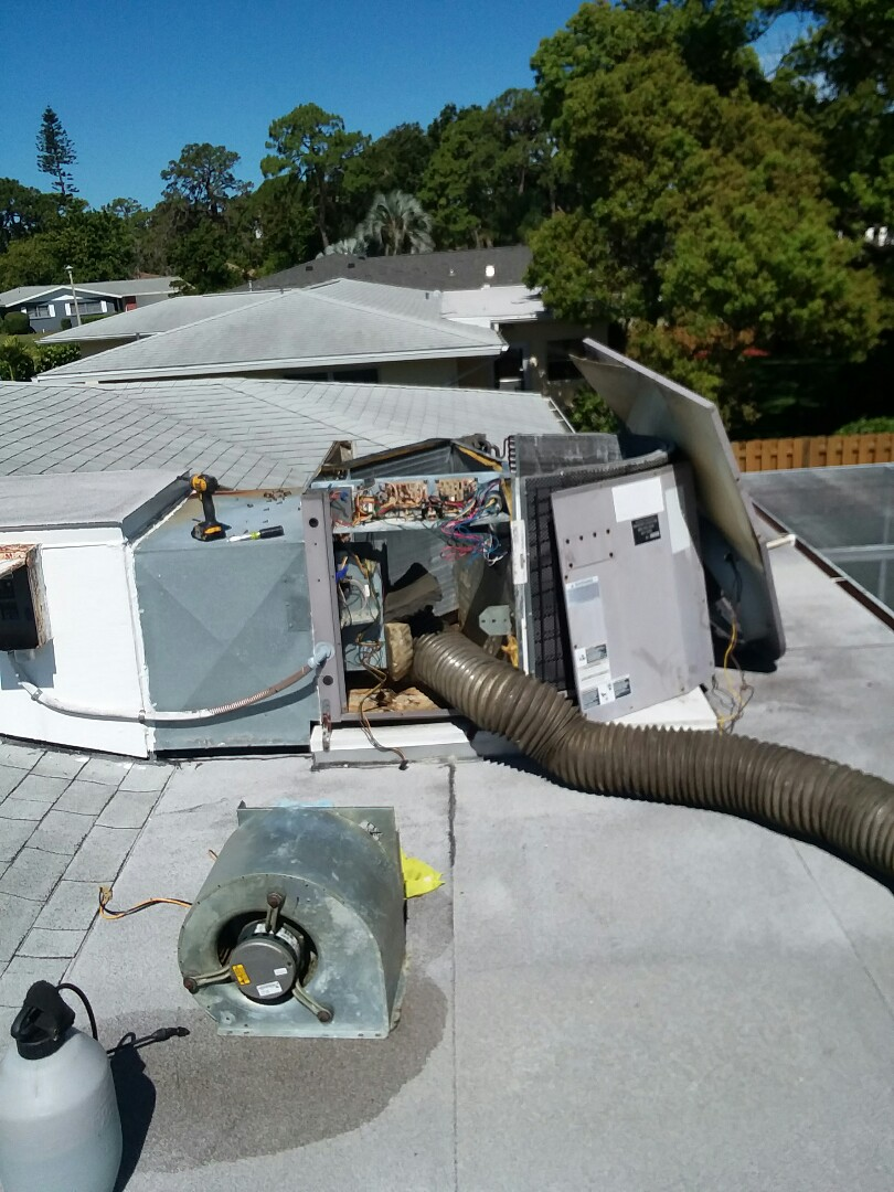 Sarasota, FL - Icp 2 ton air conditioner duct cleaning