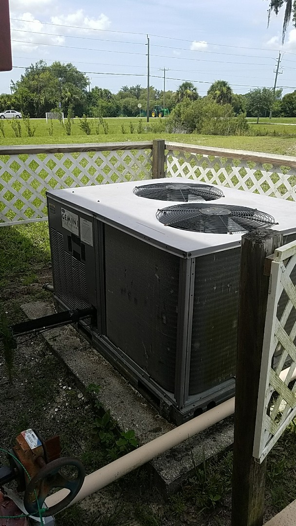 Venice, FL - Precision Tune Up maintenance on air conditioning units.