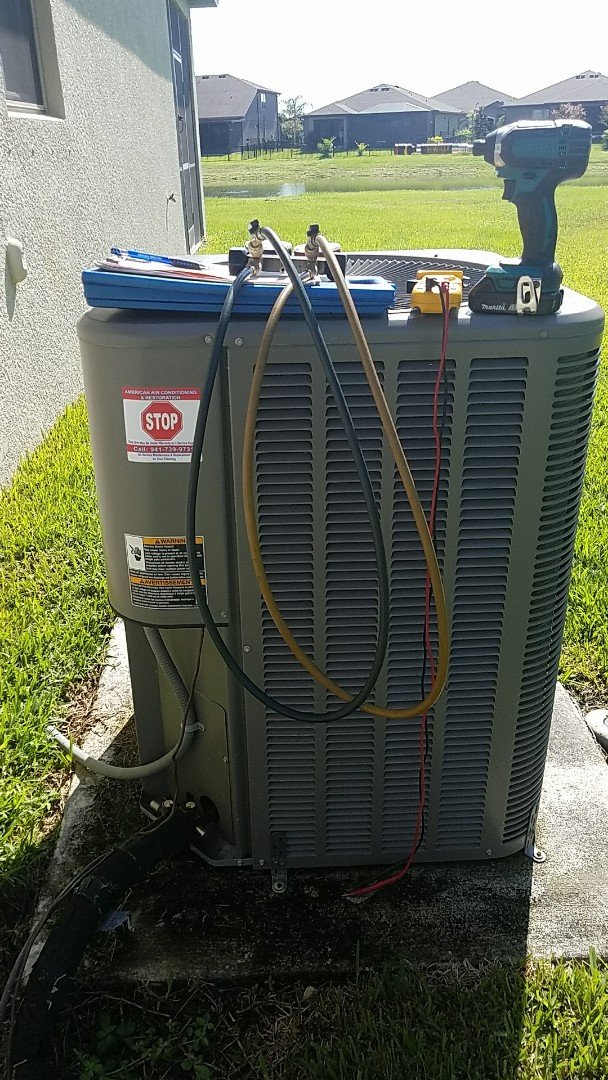 Parrish, FL - Air conditioner maintenance Precision Tune Up