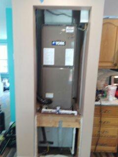 Bradenton, FL - New air conditioner replacement. 2.5 ton York split system.