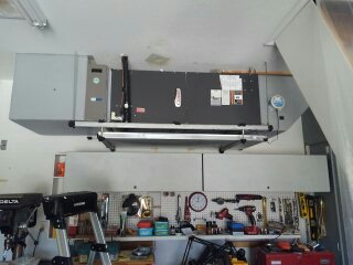 Lakewood Ranch, FL - Maintenance on air conditioner.
