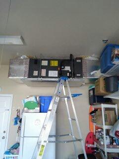Bradenton, FL - Preventive maintenance / tune-up on air conditioner