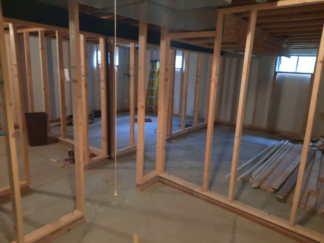 Englewood, CO - Basement framing!!! Building equity!! Waiting on electrical