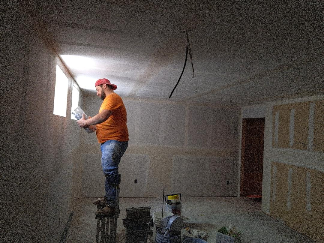 Denver, CO - Drywall taping almost done