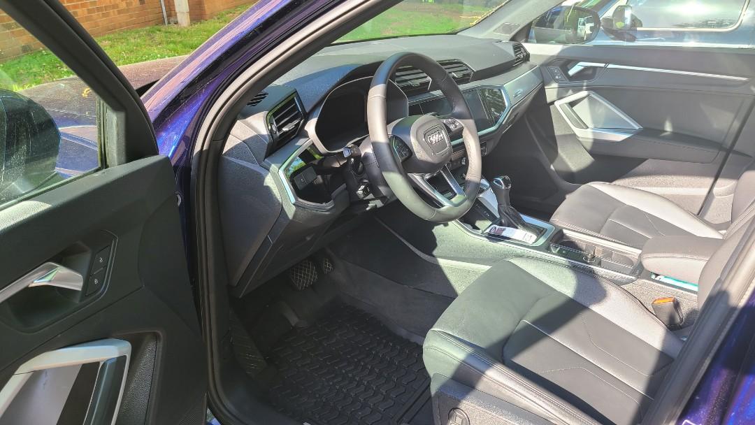 Elkton, MD - Exquisite interior services for this client's Audi