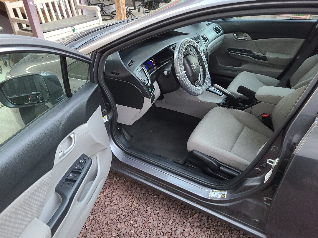 New Castle, DE - Interior cleaning for this Honda Civic