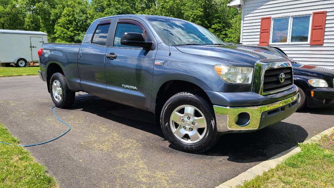 Bear, DE - Exquisite detailing for this toyoda tundra