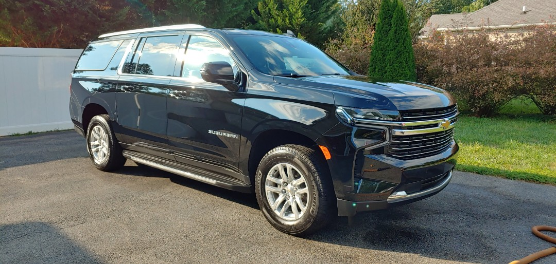 Middletown, DE - Exquisite complete detailing for this Chevy Suburban