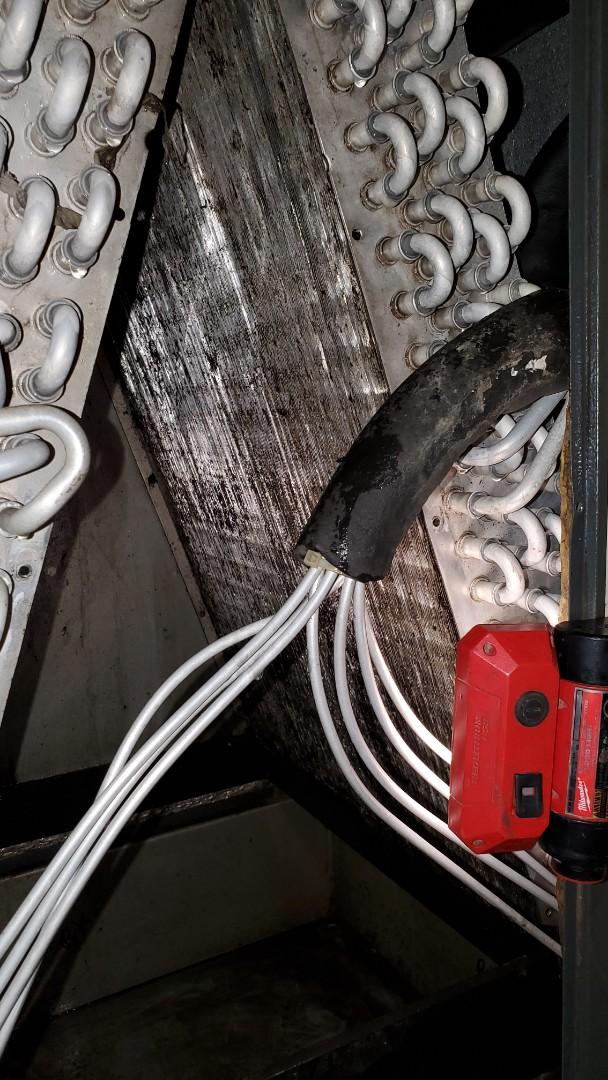 Water heater repair and drain clean