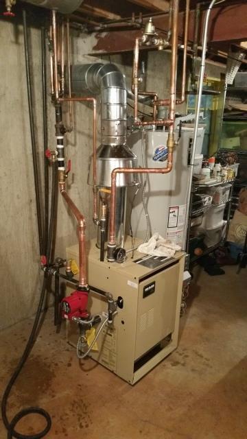 Arlington Heights, IL - Boiler Install