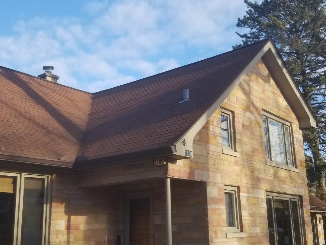 repair estimate for sloped roof