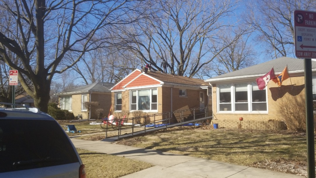 Evanston, IL - install of new roof
