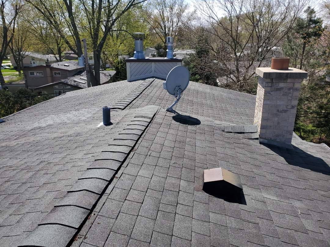 Glenview, IL - repair estimate option for tear off on roof