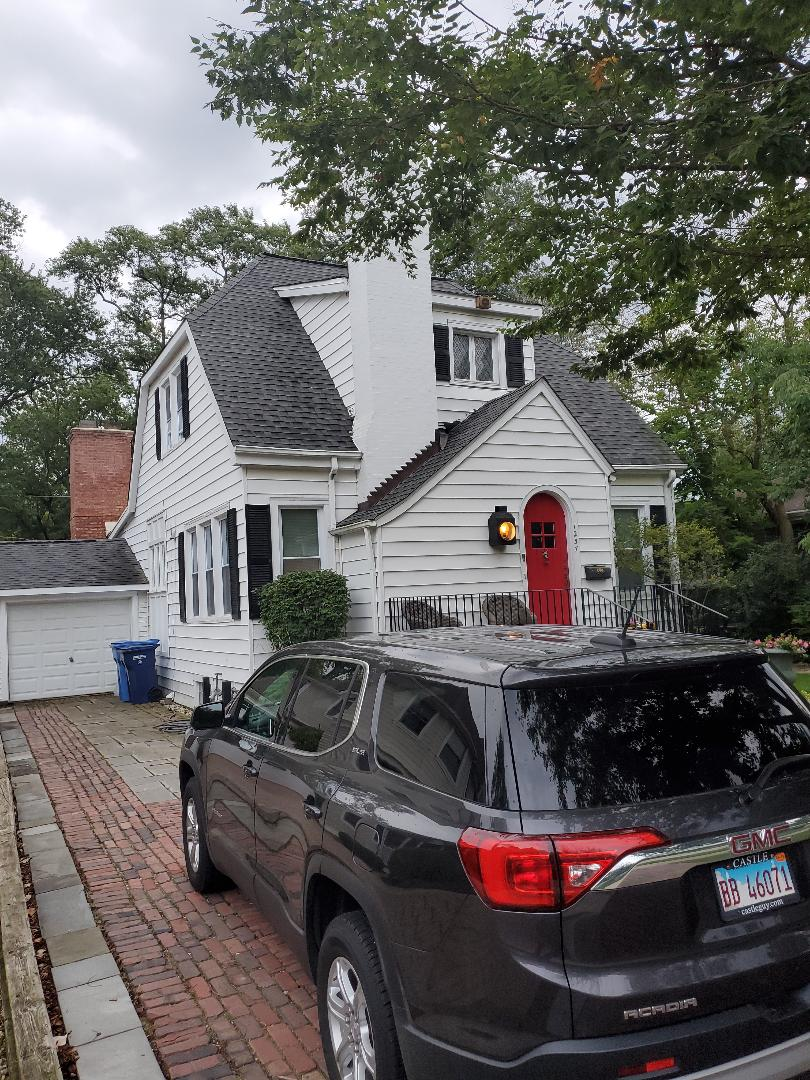 Highland Park, IL - siding repair and flat roof repair