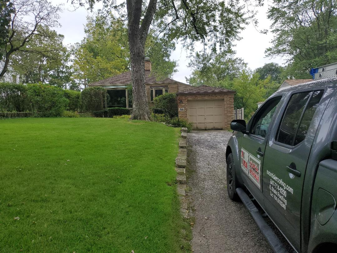 Highland Park, IL - repairs to sloped and flat roofs