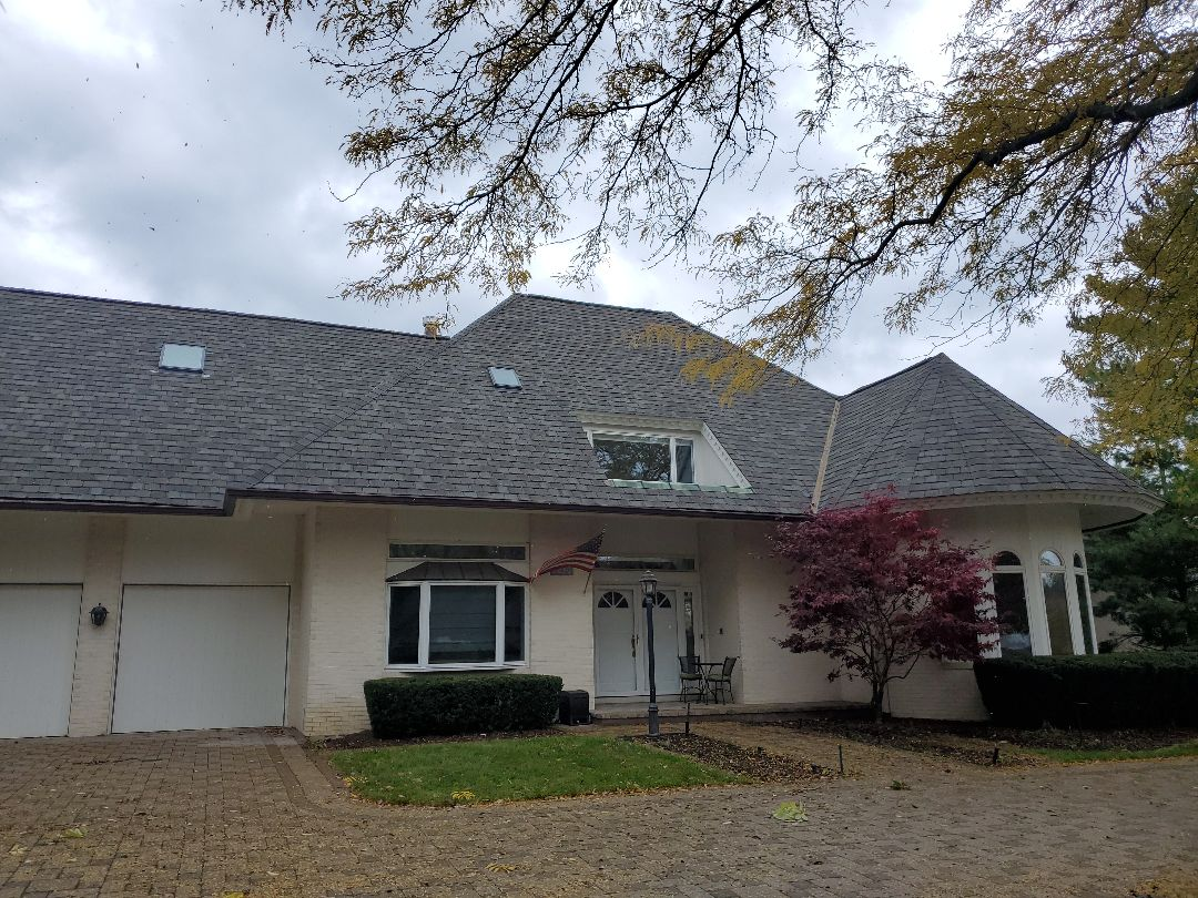 Finial 8nspection of roof install. We removed cedar shake roof and install GAF Camelot 2 Designer shingles