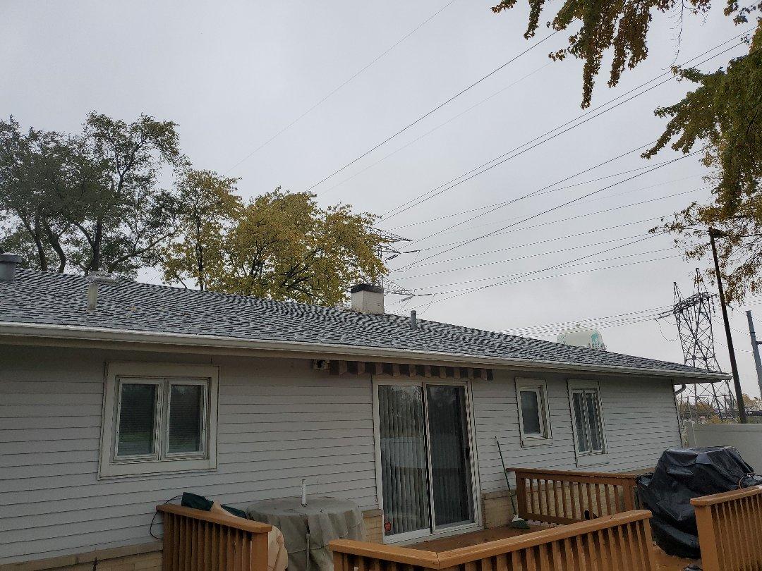 replace metal chimney housing