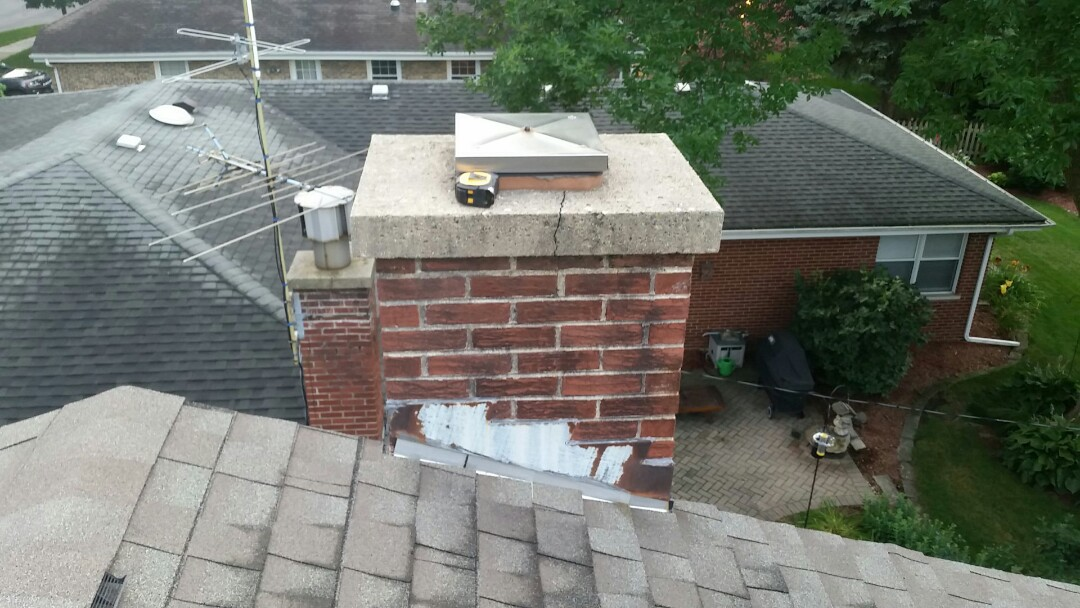Arlington Heights, IL - Chimney flashing Repair/Replacement