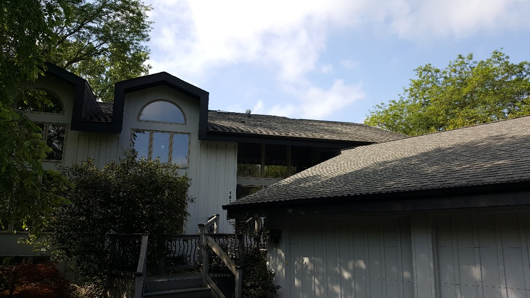 Shingle roof inspection