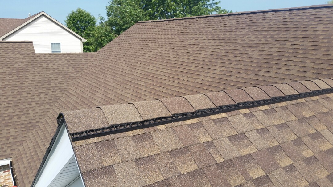 Roof Replacement- Installation of GAF Timberline lifetime Architectural shingles.  Color : Barkwood