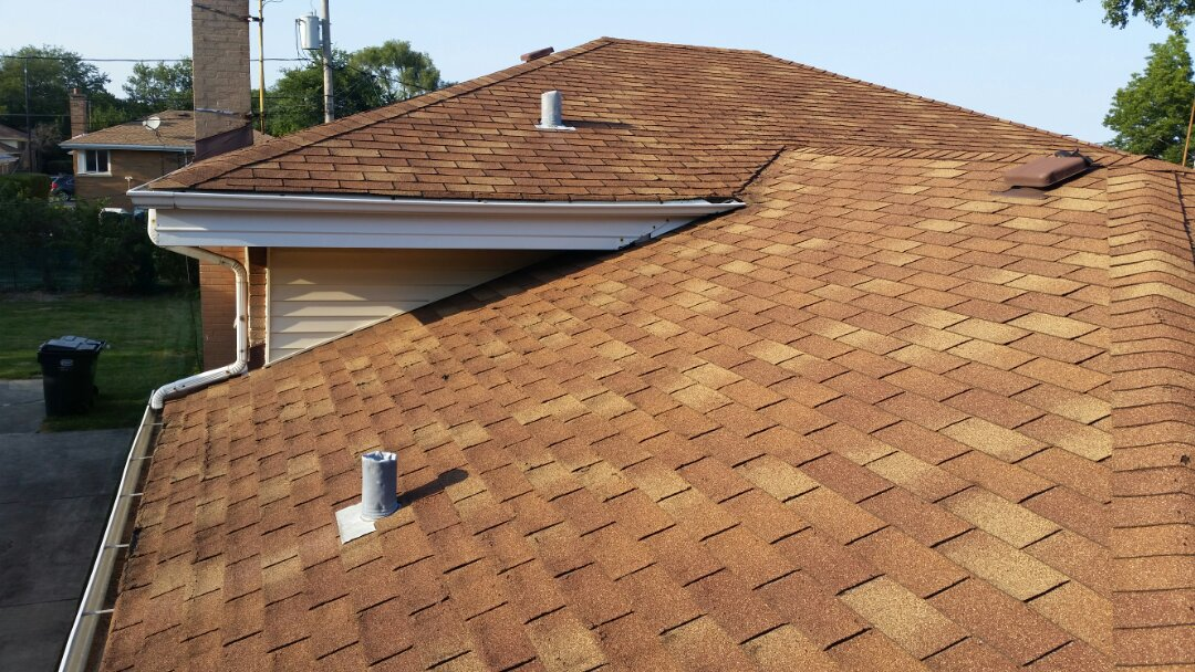 Estimate for roof replacement.