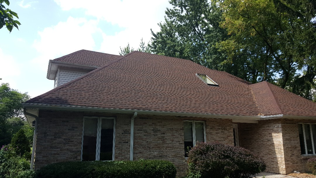 Northbrook, IL - Shingle roof repair architectural shingles