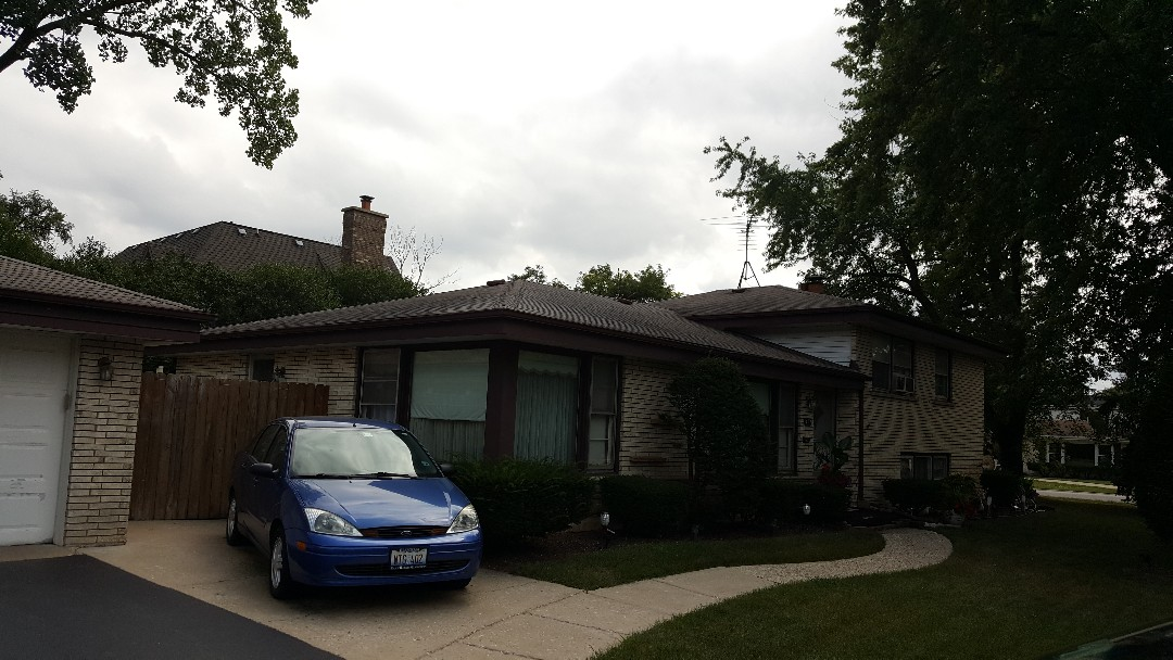 Glenview, IL - Shingle roof repair, roof flashing and kitchen vent repair