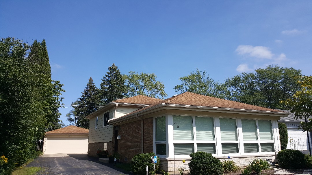 Highland Park, IL - Shingle roof inspection