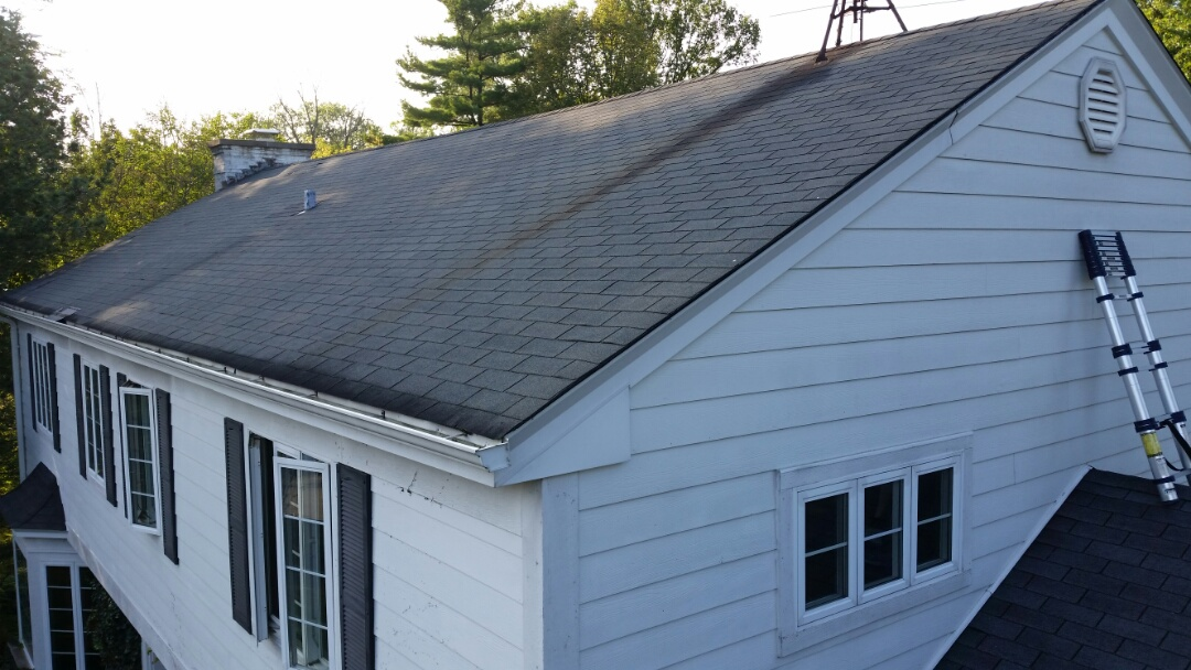 Northbrook, IL - Measuring roof for complete replacement