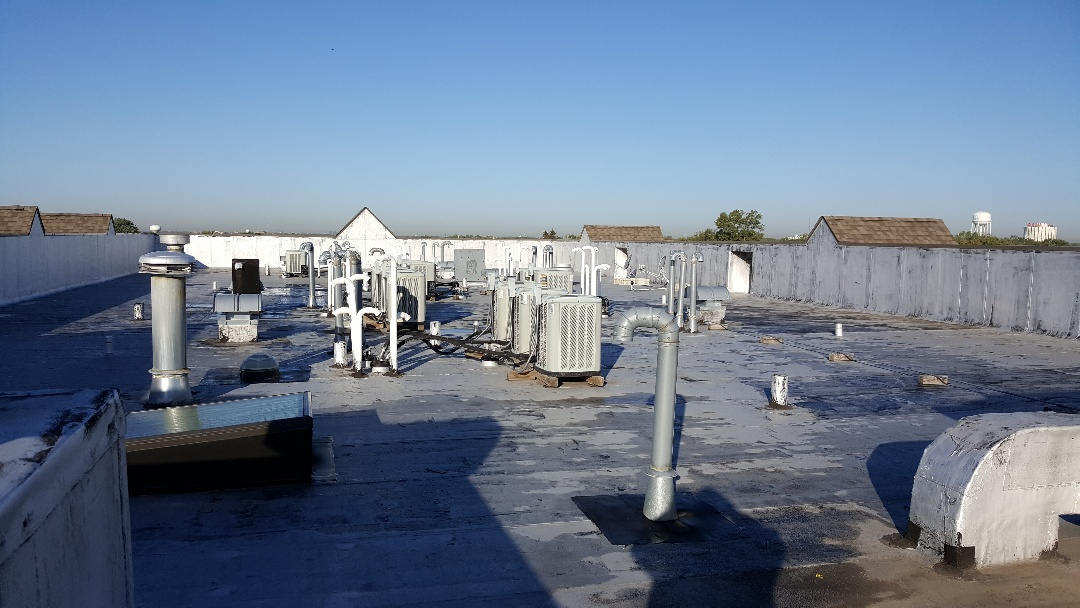 Flat roof maintenance estimate