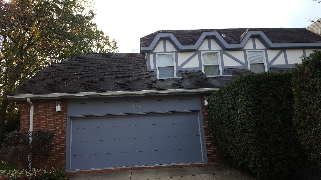 Highland Park, IL - Shingle roof repair