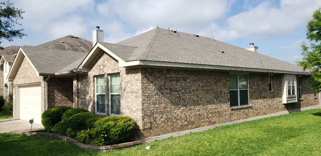 Hutto, TX - Successful build of a wind/hail damaged roof!