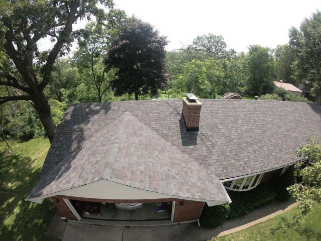 Yorkville, IL - Beautiful new Black Oak Shingles