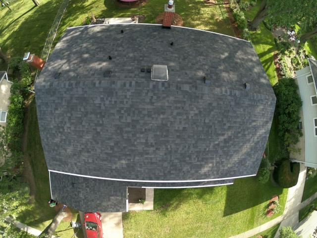 Arlington Heights, IL - New Roof with Malarkey Vista Midnight Black Shingles