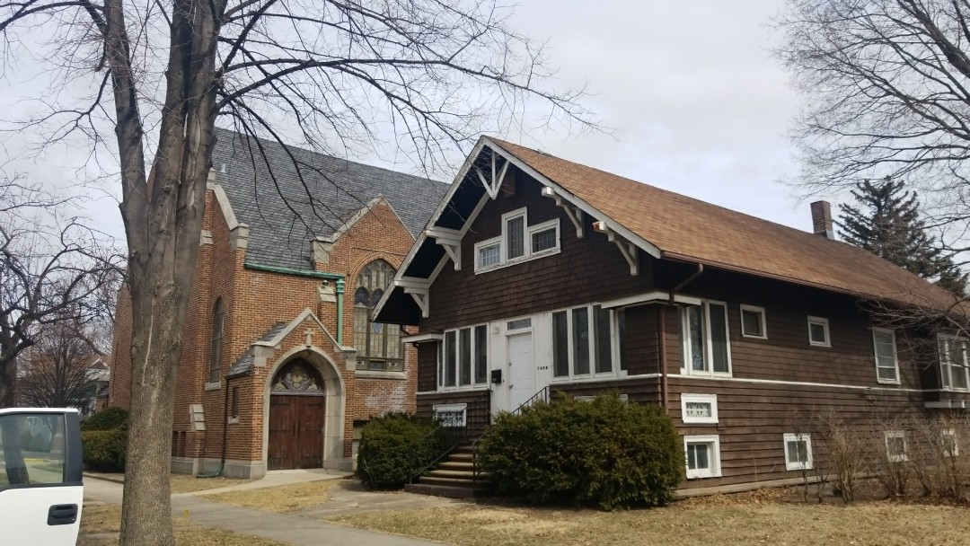 Forest Park, IL - Church and rectory roof replacement in Forest Park